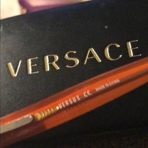 4665415bef75 Versus Versace Accessories - Versace Versus brown orange frame mod8038